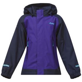 Bergans Knatten Jacket Kids Lavender/Navy
